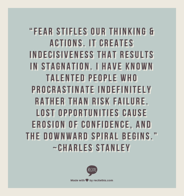 symptoms of fear