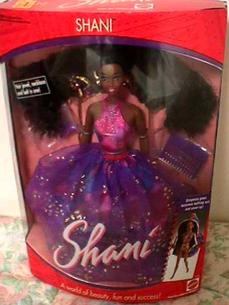 shani barbie doll