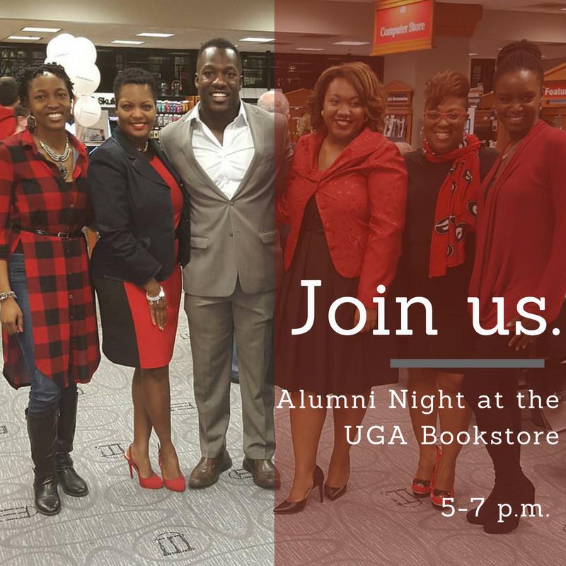 UGA Alumni Night at the Bookstore